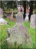 SX9193 : A misprint on a gravestone by David Smith