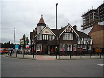 TQ2081 : The Castle public house, North Acton by Stacey Harris