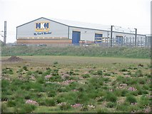 NT9955 : North Road Industrial Estate by Richard Webb