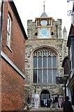 TQ9220 : Church Tower, St Mary the Virgin, Rye by Julian P Guffogg