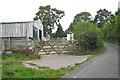 SX8479 : Outbuildings below Honeycombe Farm  by Robin Stott