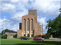SU9850 : Guildford Cathedral, Stag Hill by Colin Smith