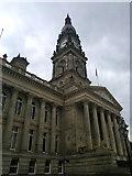 SD7109 : Bolton Town Hall by Steven Haslington