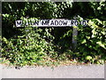 TM2749 : Melton Meadow Road sign by Adrian Cable