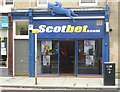 NT2372 : Bookmaker's premises, Dalry Road by kim traynor