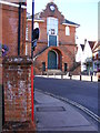 TM2749 : Market Hill & Market Hill Postbox by Geographer