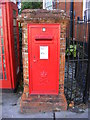 TM2749 : Market Hill Postbox by Adrian Cable