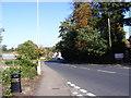 TM2648 : B1438 Ipswich Road, Woodbridge by Adrian Cable