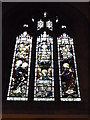 SP9030 : St. Mary the Virgin, Great Brickhill: stained glass window (2) by Basher Eyre