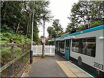 SD8203 : Heaton Park Tram Station by Gerald England