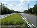 ST3095 : Central reservation, Croesyceiliog Bypass by Jaggery