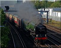 TQ3266 : 'Tornado' at East Croydon by Peter Trimming