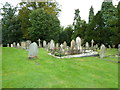 SP9019 : Early September in Mentmore Churchyard (2) by Basher Eyre