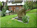 SP9019 : Rear of the war memorial in Mentmore Churchyard by Basher Eyre