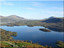 NY2621 : Derwentwater, Blencathra and Clough Head by Nigel Depledge