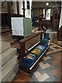 SP8822 : All Saints, Wing: communion rail by Basher Eyre
