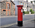J5081 : Victorian pillar box, Bangor by Albert Bridge