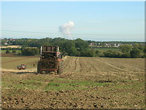SE5209 : Farmland off Red House Lane by JThomas