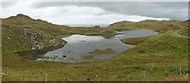 NB4118 : Loch na Buaile Duibhe by Rob Burke