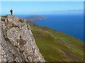 NG5739 : On top of Dun Caan by John Allan