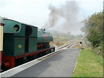 SO2508 : Mardy Monster at  Blaenavon (High Level) station  by Jaggery