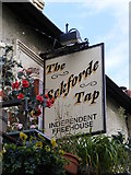 TM2649 : The Seckforde Tap Public House sign by Geographer
