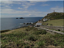 SW3531 : Cape Cornwall by Tim Evans