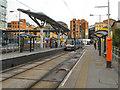 SJ8498 : Shudehill Tram Station by David Dixon