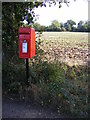 TM4478 : Crossroads The Green, Henham Postbox by Adrian Cable