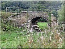 NZ8204 : Field access under the North Yorks Moors Railway by Pauline E