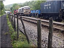 NZ8204 : Approaching the engine shed at Grosmont by Pauline E