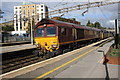TQ1097 : Triple-headed charter train approaches Watford Junction by Roger Templeman