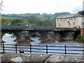 SO0428 : Northern side of Grade I listed Usk Bridge, Brecon by Jaggery