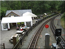 SH6441 : Tan-y-bwlch cafe and play area by Michael Westley