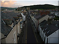 SH7877 : View along Berry Street from the town walls, Conwy by Phil Champion