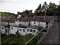 SH7777 : Extensions and roof terraces - rear of houses on Watkin Street, Conwy by Phil Champion
