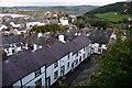 SH7777 : Terraced housing on Watkin Street, Conwy by Phil Champion