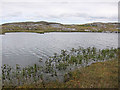 NB1339 : Small loch on Great Bernera by Lis Burke