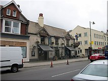 TQ2105 : Crown and Anchor, High Street Shoreham-by-Sea by PAUL FARMER