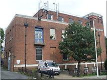 TQ4387 : Ilford North Telephone Exchange (2) by David Hillas