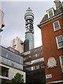 TQ2981 : Post Office tower ogled by Derek Harper