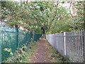 TQ4172 : Green Chain Walk past College Meadow (2) by David Anstiss