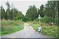 SX9175 : Three Tree Lane (east end) by Hugh Craddock