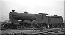 SK4799 : Ex-Great Central 'Fish' class 4-6-0 at Mexborough Locomotive Depot by Ben Brooksbank