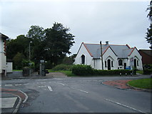 ST0881 : Station Road/Heol Creigiau junction by Colin Pyle