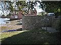 SX9272 : Wall and handrail, Keyworth Place  by Robin Stott