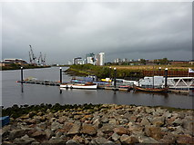 NS5566 : River Clyde, from Riverside Museum by Peter Barr