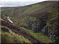 NY9302 : Eweleap Scar, Blakethwaite Gill by Karl and Ali