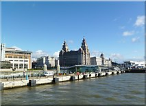 SJ3390 : Liverpool, ferry terminal by Mike Faherty
