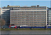 TQ3078 : Hampton House, Albert Embankment by Stephen Richards